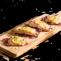 Как приготовить филе лосося с соусом вкусно — рецепт