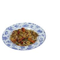 Креветки с овощами в соевом соусе – простой рецепт